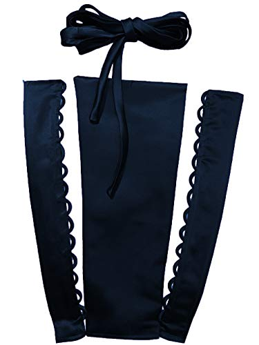 YCShun Women's Wedding Dress Zipper Replacement Adjustable Fit Satin Corset Back Kit Lace up for Prom Dress Navy Blue 10 - Lace Up Blue Corset