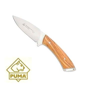 Amazon.com : Puma Alpine Guide Knife Olive Wood : Fixed ...