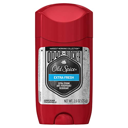 Old Spice Hardest Working Collection Odor Blocker Anti-Perspirant and Deodorant, Extra Fresh, 2.6 Ounce