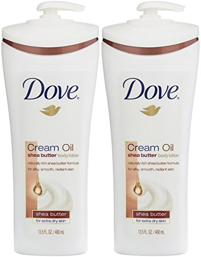 Dove Body Lotion,  Cream Oil Shea Butter 13.5 oz