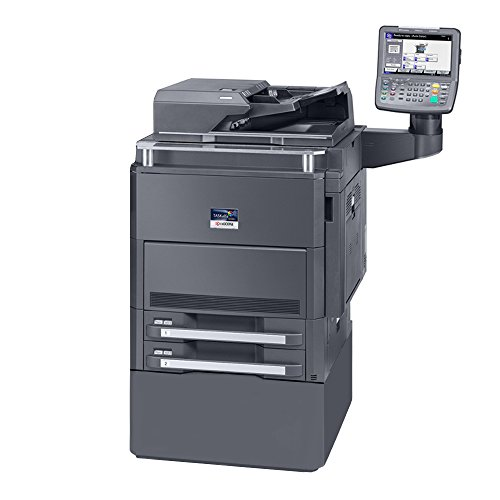 Kyocera TASKalfa 6550ci Color Copier Printer Scanner All-in-One MFP - 11x17, 12x18, Auto Duplex, 65 ppm, 2 Trays and Stand (All Kyocera Laser One In Printer)