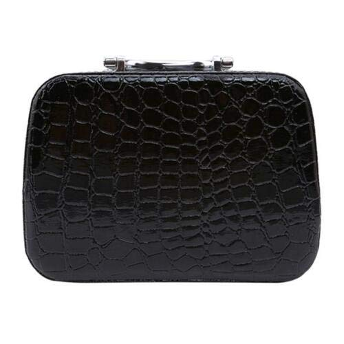 Makeup Travel Cosmetic Bag Case Multifunction Pouch Toiletry Zip Organizer Q (Colors - Black)
