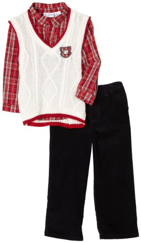 Babytogs Little Boys' Sweater Vest And Pant Set