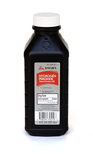 Medique Products 25708 Hydrogen Peroxide Bottle, 8-Ounce ()