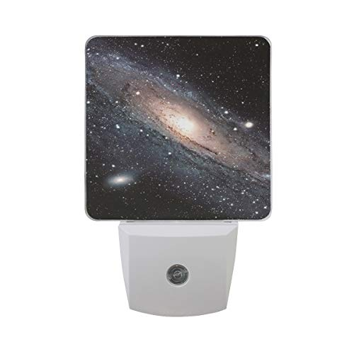 2 Pack 0.5W Plug-in LED Night Light Lamp with Dusk to Dawn Sensor,Kids, Adult, Bedroom, Hallway, Bathroom, Kitchen, Stairways, Corridor - Galaxy Best -