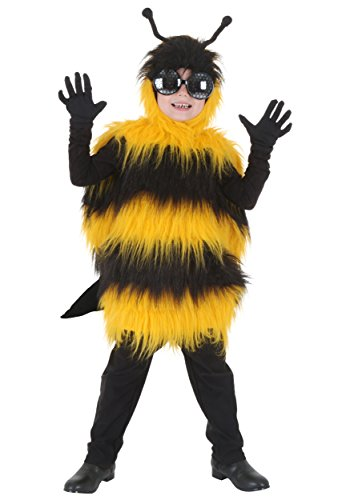 Deluxe Kids Bumblebee Costume Medium ()