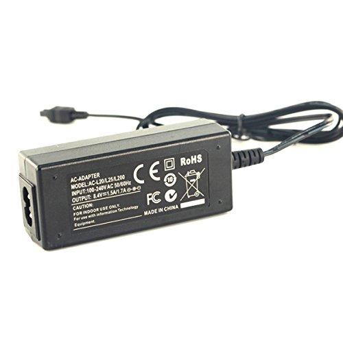 (AC Power Adapter Charger for Sony DCR-SX50 DCR-SX60 DCR-SX63 DCR-SX65 Handycam Camcorder)