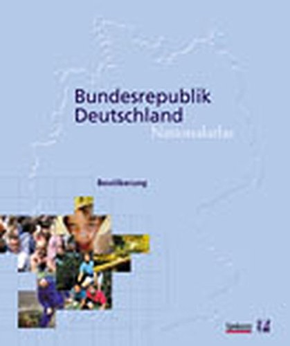 Bundesrepublik Deutschland, Nationalatlas, 12 Bde. u. 1 Reg.-Bd., Bd.4, Bevölkerung: Population