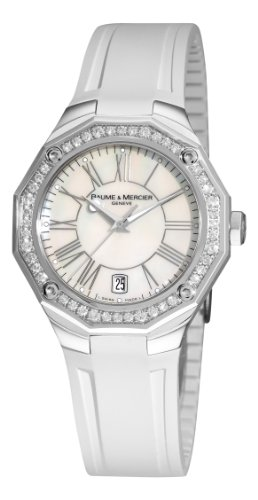 Baume & Mercier Women's 8793 Riviera Mother-Of-Pearl Dial Diamond Watch