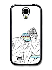 AMAF ? Accessories Girl Gossip Aztec Mayan Pattern Original Art Illustration case for Samsung Galaxy S4 wangjiang maoyi