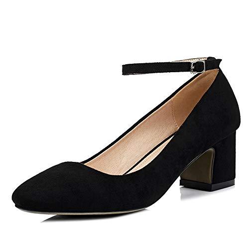 Head Black Encolure carrée à pour Square Femmes Chaussures wO0tqX7Cp