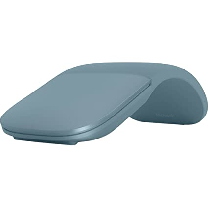 b7989cfe1a7 Amazon.com: Microsoft Surface Arc Wireless Bluetooth Mouse - Aqua:  Computers & Accessories
