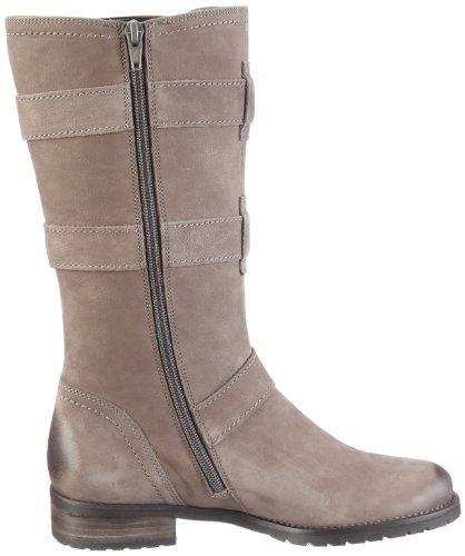 Gabor Shoes Gabor 31.540.13 - Botas de cuero nobuck para mujer Gris