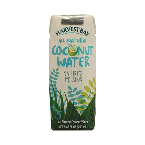 Harvest Bay All Natural Coconut Water, 8.45 Ounce - 12 per - Bay Harvest Coconut Water