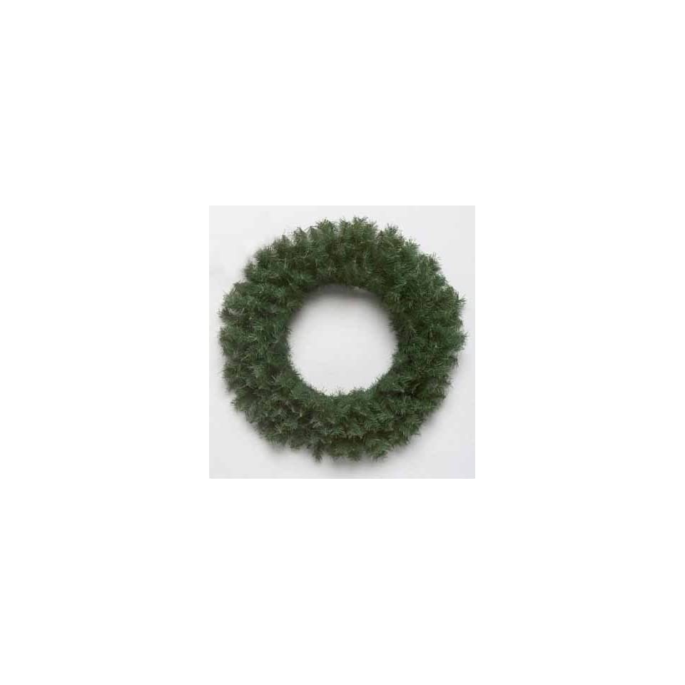 Pack of 6 Canadian Pine Artificial Christmas Wreaths 20   Unlit