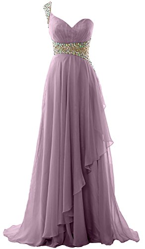 Wisteria One Gown Formal MACloth Chiffon Evening Dress Shoulder Long Elegant Prom 2018 Og7qwP5