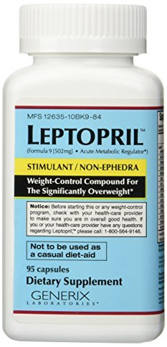 Generix Labs Leptopril Capsules, 95-Count Bottle - 2 Pack by Genetrix by Genetrix