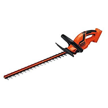 Black and Decker LHT2436B 40-Volt Bare Lithium Ion Hedge Trimmer, 24-Inch,Without Battery""