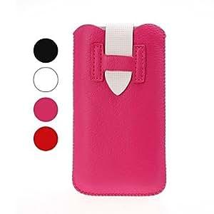 Mini - Litchi Texture Leather Case for iPhone 4/4S/5/5S/5C , Color: Black