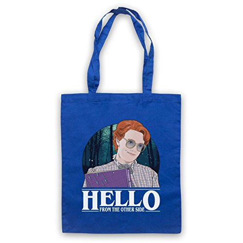 Stranger Things Barb Hello From The Other Side Bolso Azur Real