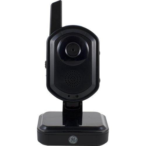 GE 45256 Indoor/Outdoor Digital Wireless Color Camera (Black)(Camera only)