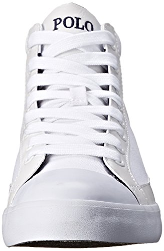 Polo Ralph Lauren Manar Clarke Mode Sneaker Kritvit
