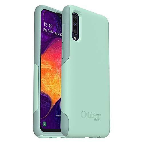 OtterBox Commuter Lite Schutzhülle für Samsung Galaxy A50, in Einzelhandelsverpackung, Aqua-Seel- / Aquifan-Optik