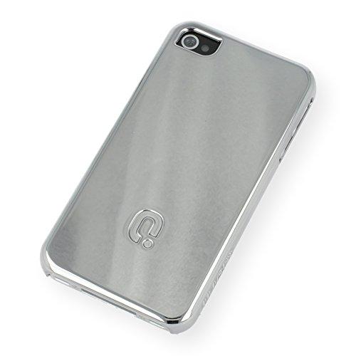 QIOTTI Q. à Curves snapcase pour iPhone 4/4S–Chrome