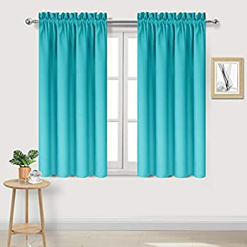 Amazon Com Dwcn Turquoise Blackout Curtains Room