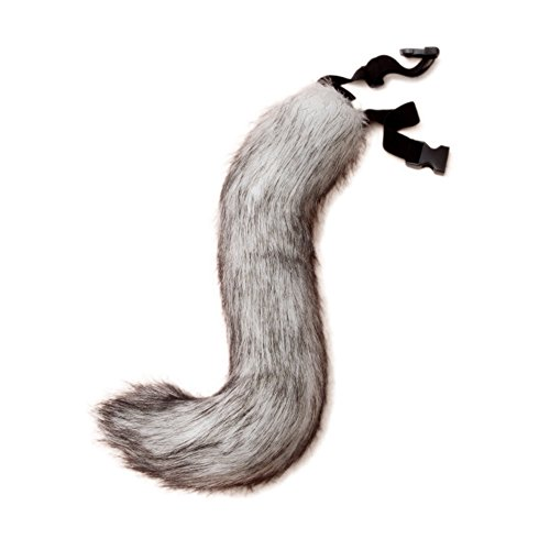 JUNBOON Faux Fur Fox Tail for Unisex Adult Children Cosplay Costume Halloween Party (Fox) -