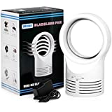 Ecosin New Style Portable Air Conditioner Table Mini Bladeless Fan With Adapte