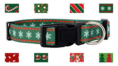 Native Pup Christmas Dog Collar