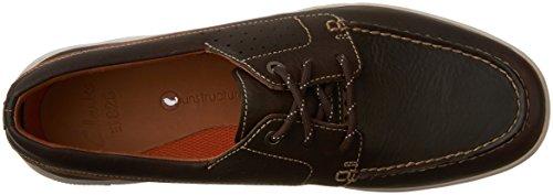 Clarks - Mens Unmaslow Edge Loafer Dark Brown Leather VK1beGmcO
