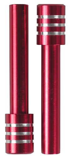 Custom Accessories 16011 Red Billet Door Lock Knob (Billet Door Lock Knobs)