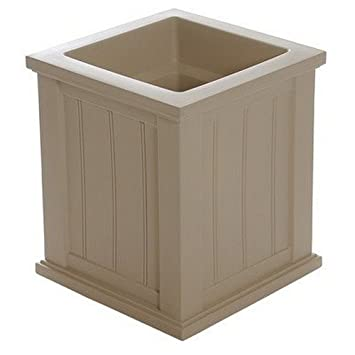Amazon Com Cape Cod Rectangular Planter Box Size 16 X 16 Color