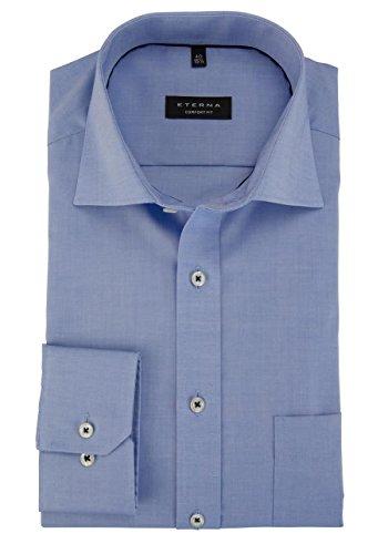 Eterna Long Sleeve Shirt Comfort Fit Pinpoint Uni
