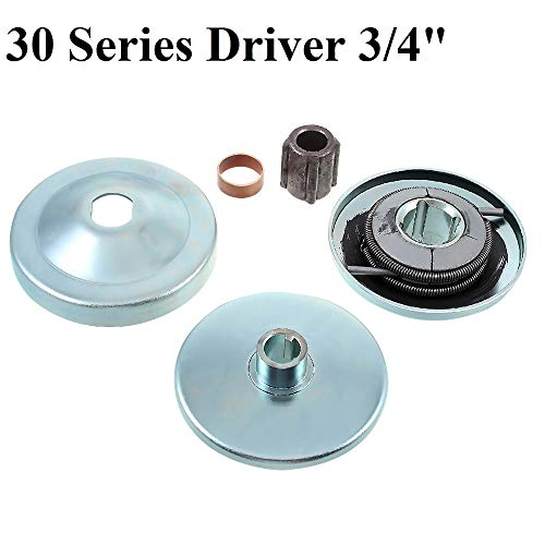 New 30 Series 6 5 HP Go Kart/Mini Bike Torque Converter Clutch Driver  Pulley Replacement Comet Manco 212CC 3/4 Bore Max Torque (3/4 Torque  Converter