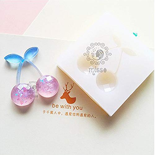 Mold Making - Diy Cherry Mold Making Jewelry Pendant Resin Casting Mould Craft Transparent Silicone Crystal - Games Dolphin Clay Rubber Lips Release Animal Cover Bath Grade Assortment Kawaii