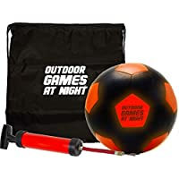 Outdoor Games LED Soccer Ball with Pump and Bag - Light...