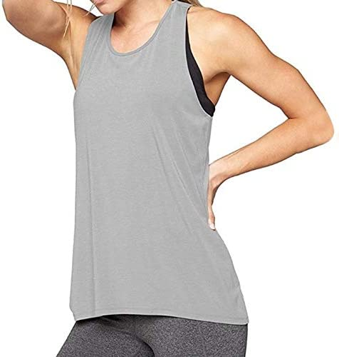 POLP Camiseta Sin Mangas Mujer Sexy Ropa de Fitness de Hombros Tanque Tops Chaleco Blusa Crop Tops Camiseta Deportiva de Tirantes Talla Grande Ejercicio y Fitness S/M/L/XL/XXL: Amazon.es: Ropa y accesorios
