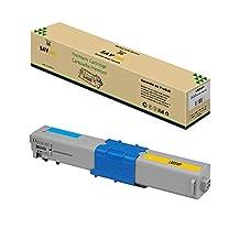 Savink © Premium Quality Compatible Magenta Toner Cartridge for Okidata C330, C17, Oki C310dn, Oki C310, C330, C331dn, C531, C330dn, Oki C510dn, Oki C510, C530, Oki C531d, C531dn, C331 C530dn, MC361, MC362w MFP, MC562w, MC361 MFP, MC561, MC562w MFP, MC362, MC561 MFP, MC362w, MC562
