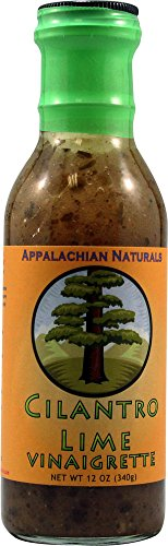 Appalachian Naturals Salad Dressing Gluten Free Cilantro Lime Vinaigrette -- 12 fl oz