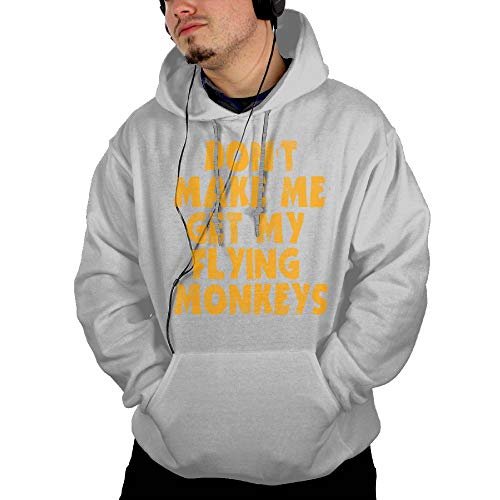 Flying Monkeys Hooded Sweatshirt - Riokk Az Hooded Pullover Sweatshirts Don't Make Me Get Flying Monkeys Man