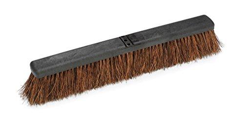 Harper Brush 1436P12 Broom Head, Palmyra Fiber, Outdoor, Very Rough Surface, Plastic, 24