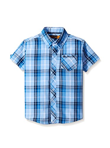ben-sherman-boys-check-shirt-vista-blue-42496