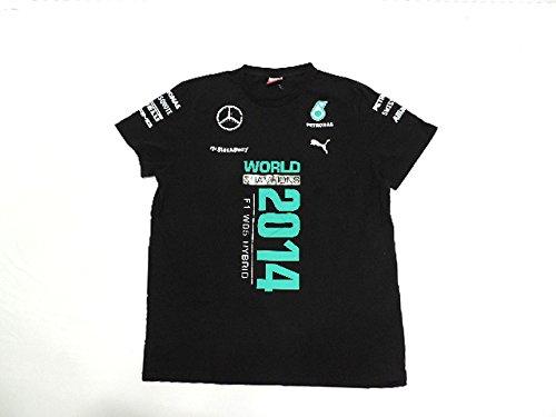 【驚きの価格が実現!】 MERCEDES (メルセデス) 2014年 支給品 タイトル獲得記念 Tシャツ Tシャツ 2014年 L new MERCEDES B01HR6SL5K, ニタチョウ:0746e161 --- arianechie.dominiotemporario.com