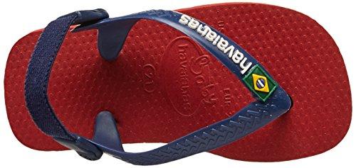 Havaianas Bébé Brasil Logo Sandales Rouge