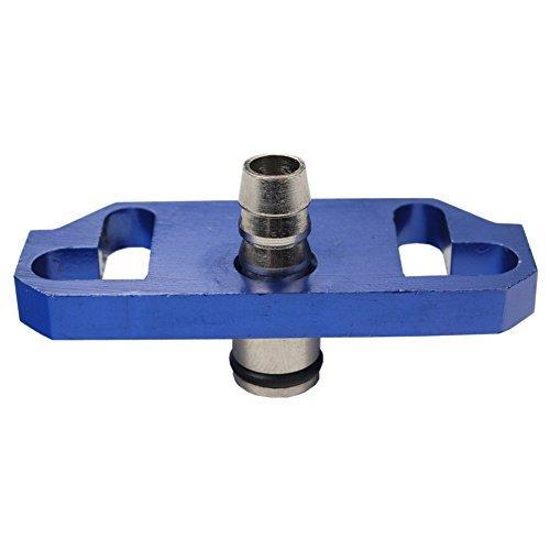 TOYOTA SCION RACING FUEL PRESSURE REGULATOR RAIL ADAPTER RISER Color Blue