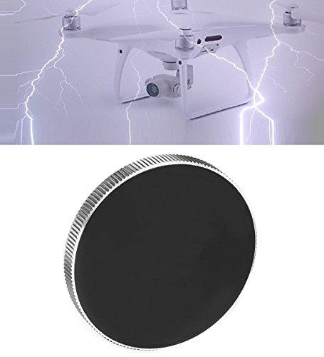 HDStars Protective Lens Cap For DJI Phantom 4 - Phantom 3 Advanced, Professional Drone (Black-Metal)