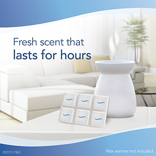 Febreze Wax Melts Air Freshener, Meadows & Rain (Pack of 8) by Febreze (Image #3)